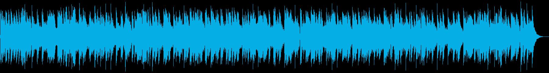 お洒落なモダンスムースジャズBGMの再生済みの波形