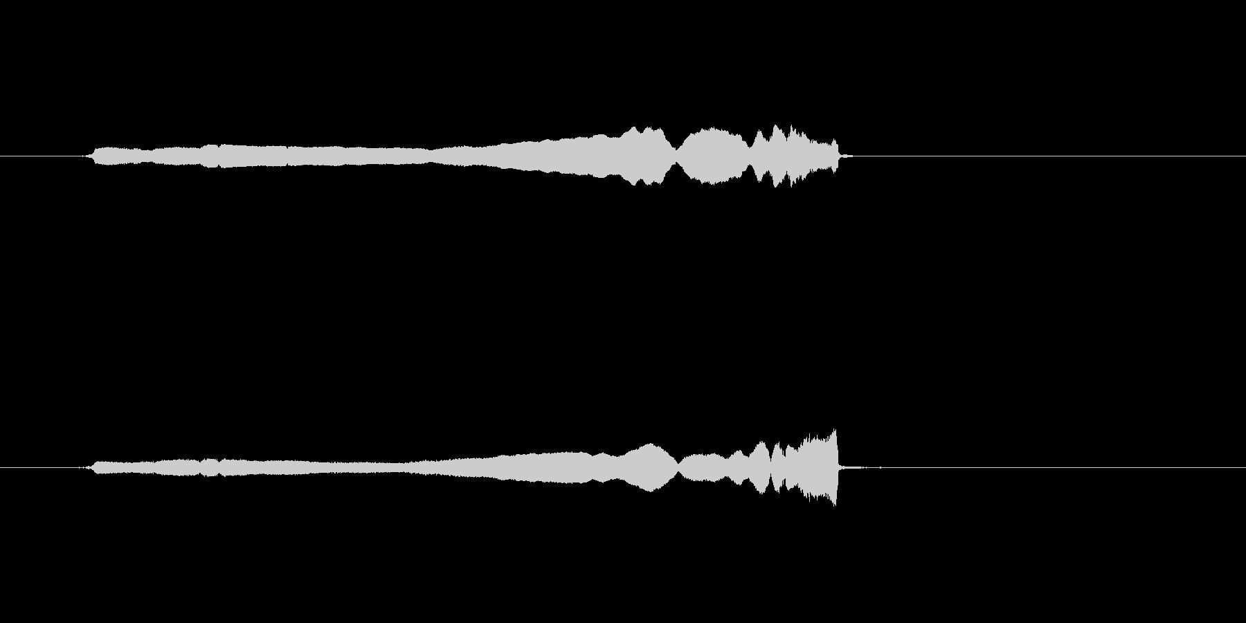 コメディスライドホイッスルグリスア...の未再生の波形