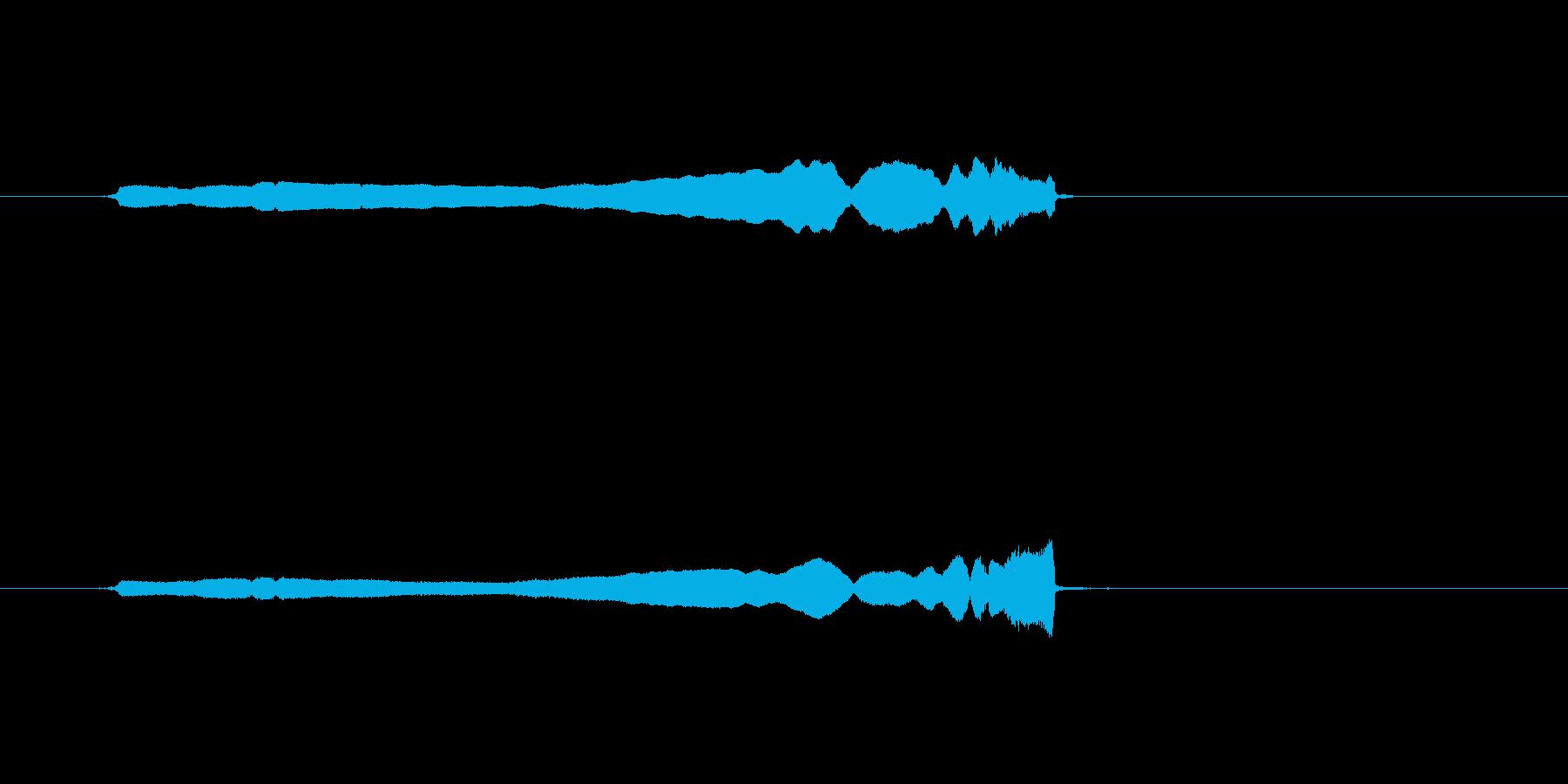 コメディスライドホイッスルグリスア...の再生済みの波形