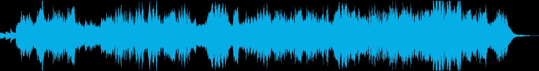 フルートとオーボエの優雅なBGMの再生済みの波形