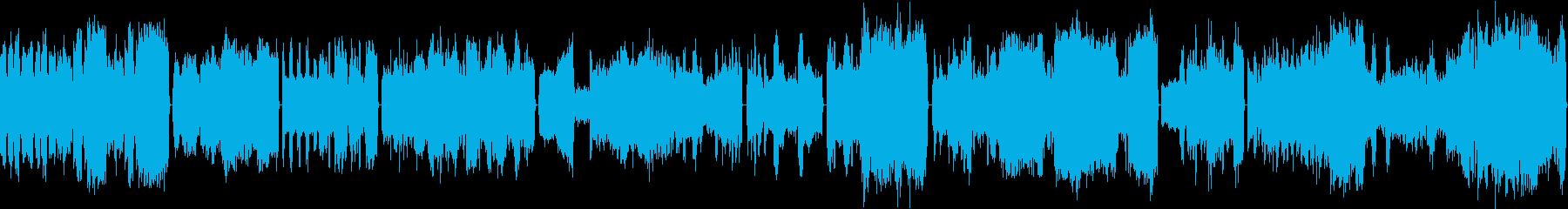 ブラームスのカバーの再生済みの波形