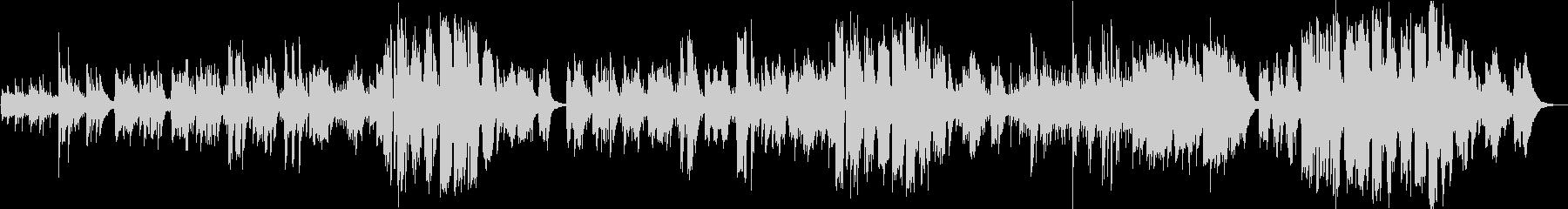 英語/女性ボーカル/生録/フォークソングの未再生の波形