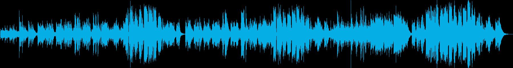 英語/女性ボーカル/生録/フォークソングの再生済みの波形