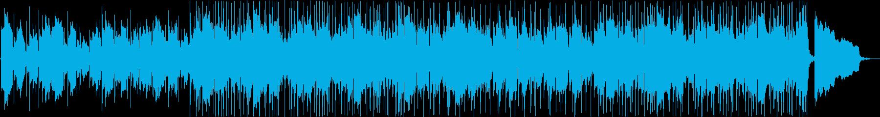 ギターを使った邦画トレーラー3の再生済みの波形