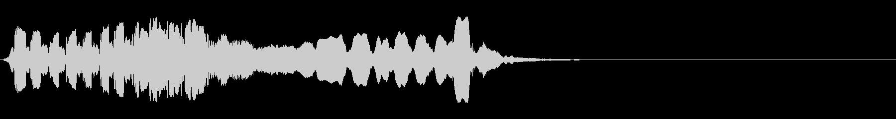 尺八 生演奏 古典風 残響音有 #10の未再生の波形