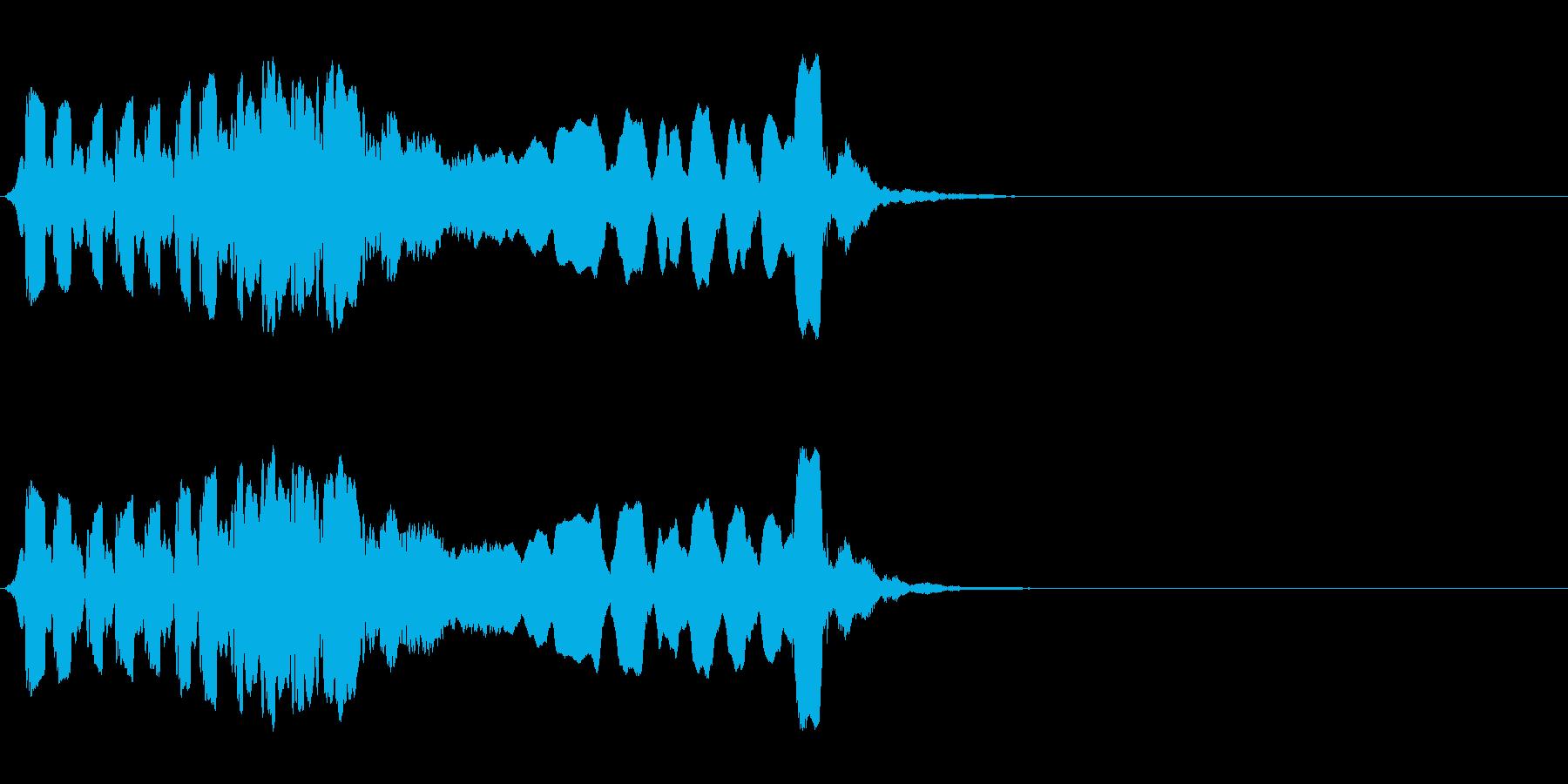 尺八 生演奏 古典風 残響音有 #10の再生済みの波形