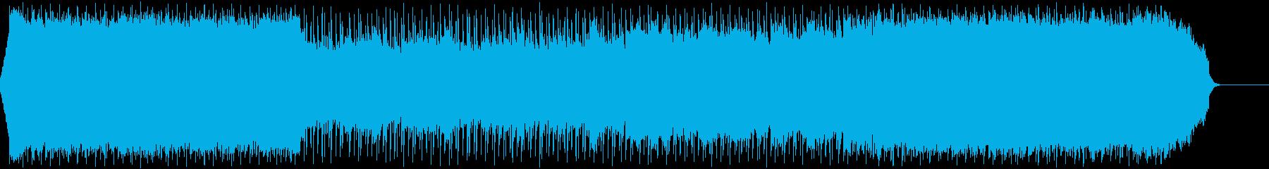 爽やか・ロック・青空・オープニングの再生済みの波形