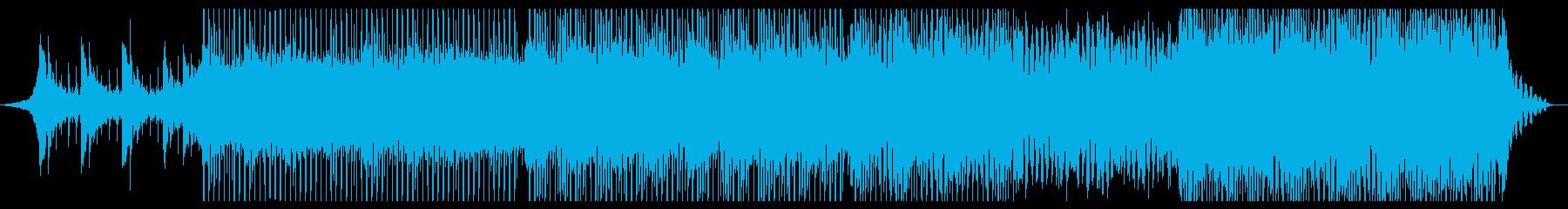 エレガントの再生済みの波形