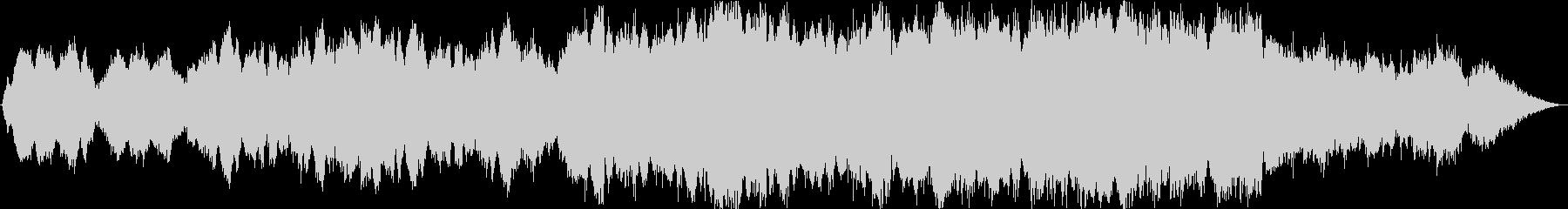 アメイジンググレイス/オペラ,コーラスの未再生の波形