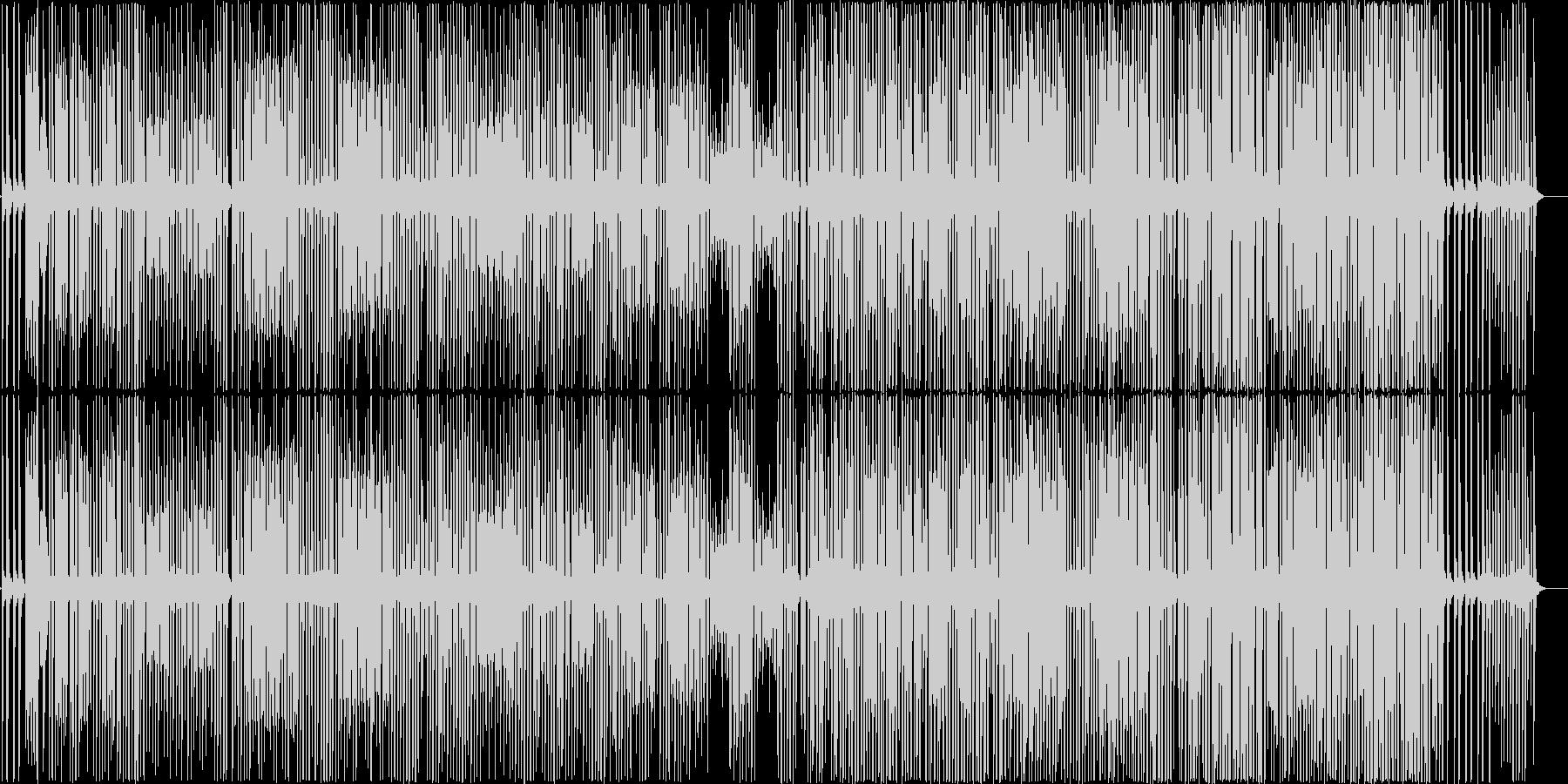 シンプルだけど楽しげなピコピコラグタイムの未再生の波形