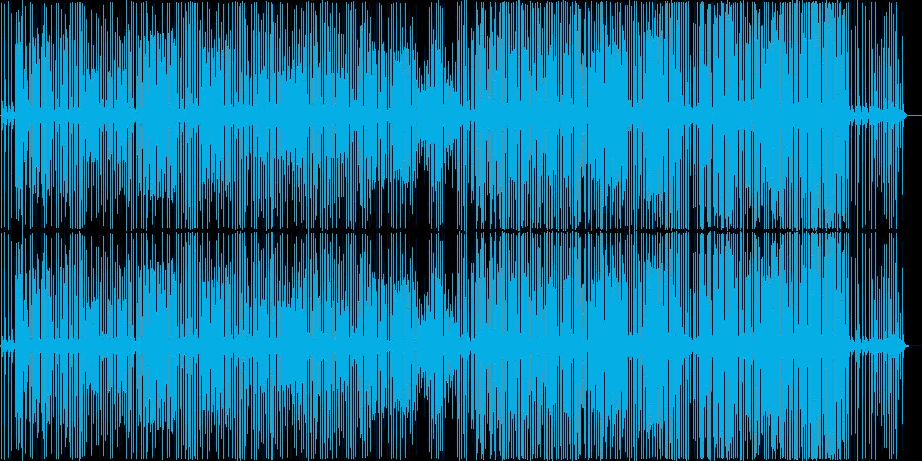 シンプルだけど楽しげなピコピコラグタイムの再生済みの波形
