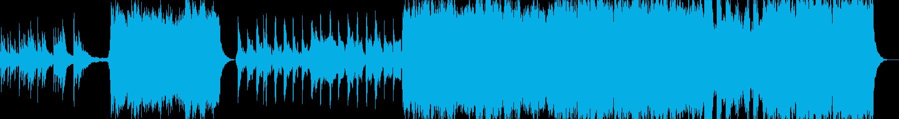 映画のクライマックス的な感動オーケストラの再生済みの波形