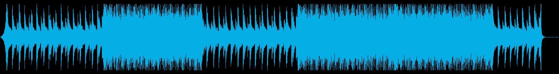 【メロディ抜】爽やかなコーポレートムービの再生済みの波形