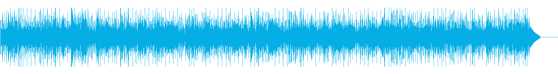 おしゃれなオトナR&Bエレピジャズの再生済みの波形