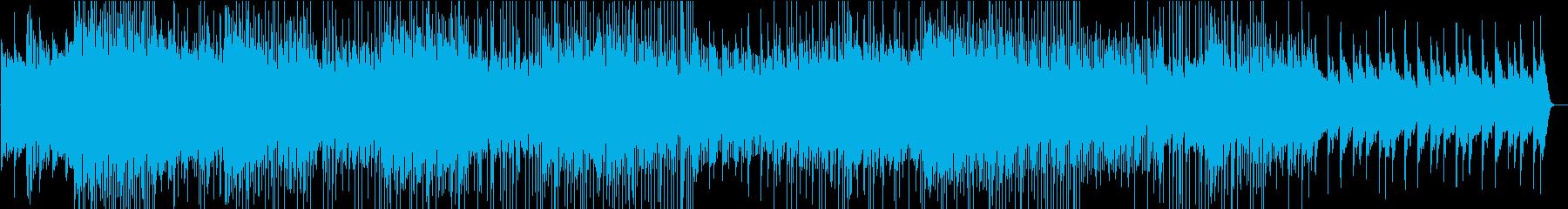 宇宙感のある不思議なBGMの再生済みの波形