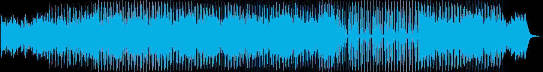 ピアノとビートでエンディングの再生済みの波形