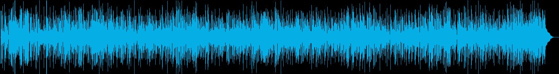 夏の陽気な疾走感ジャズピアノトリオ 大人の再生済みの波形