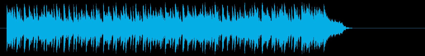大人のポップ/ボサノバ(サビ)の再生済みの波形