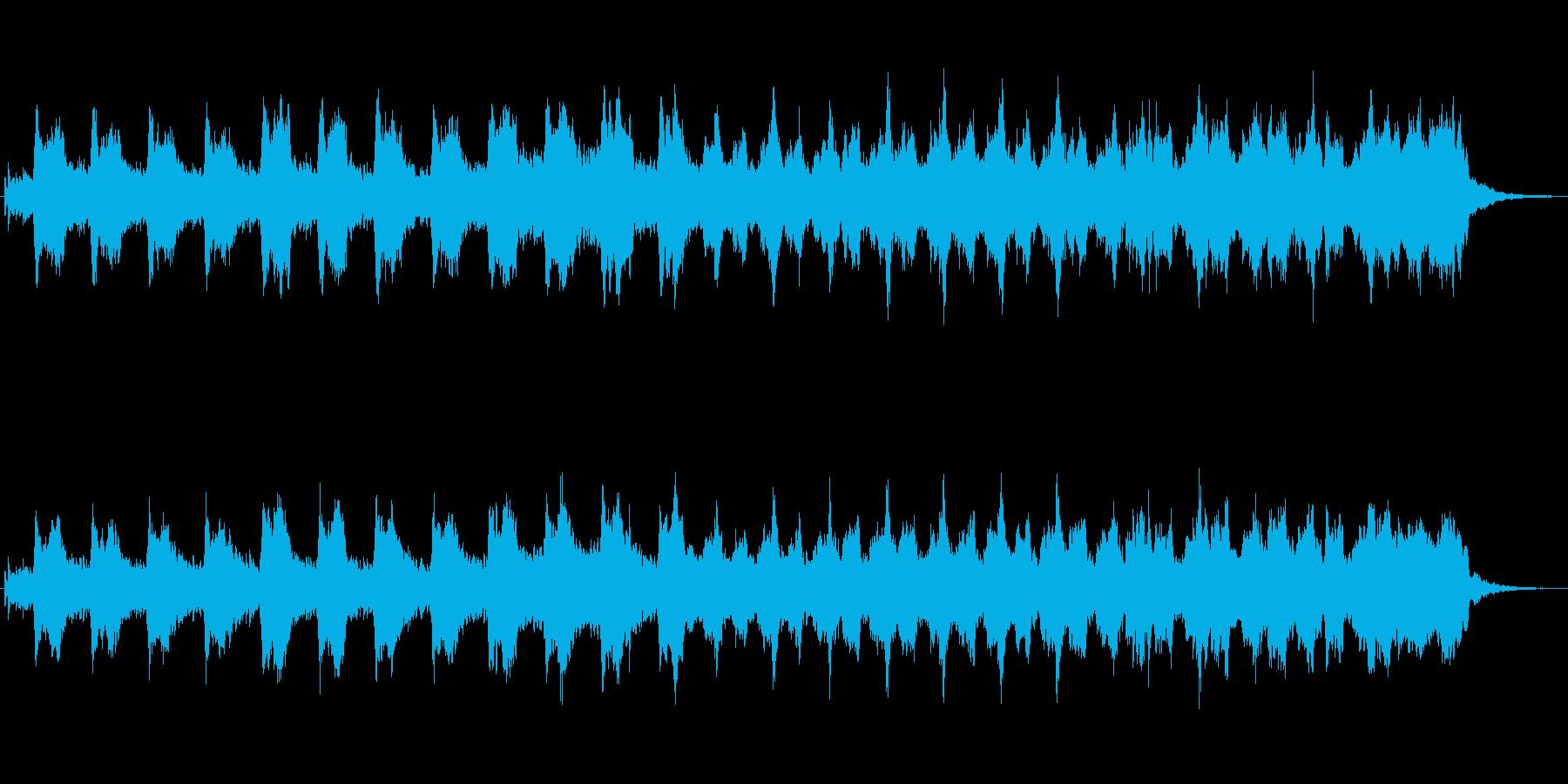 キラキラしたメルヘンチックなジングル6の再生済みの波形