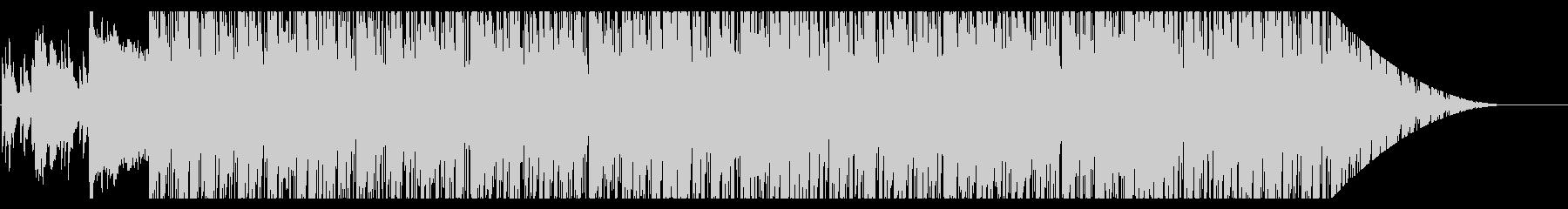 トロピカルな雰囲気の軽快なポップスの未再生の波形
