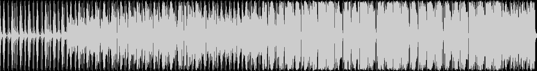 オルガンとドラムが主体の軽快な曲ですの未再生の波形