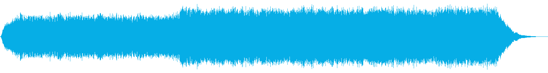 オープニングやプレゼンに最適なBGMの再生済みの波形