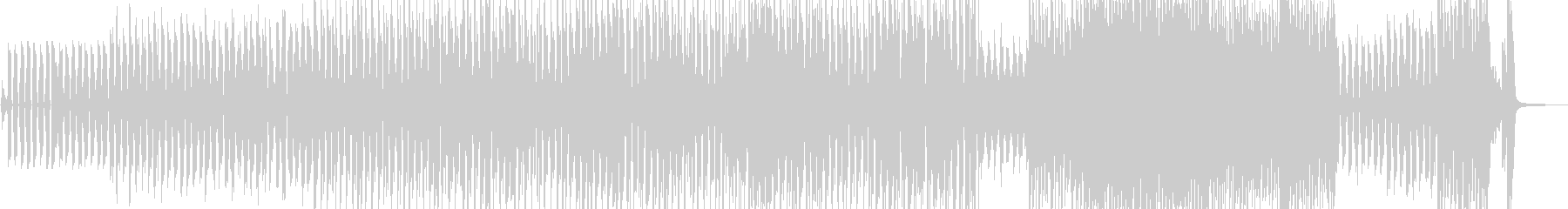 コミカルで可笑しなスィングジャズ Bの未再生の波形