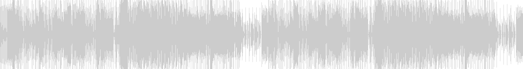 ループの昔懐かしいチップチューンbgmの未再生の波形