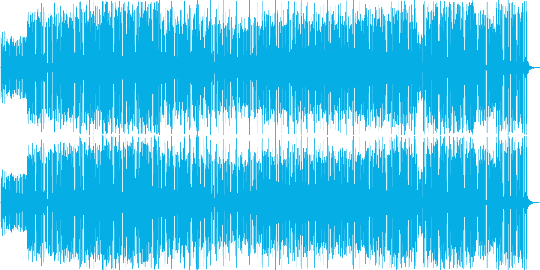 謎めいた、浮ついたBGM、報道、追求、…の再生済みの波形