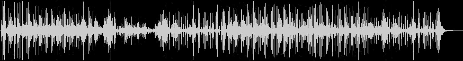 津軽三味線ソロ-B、激しい、疾走、声入りの未再生の波形