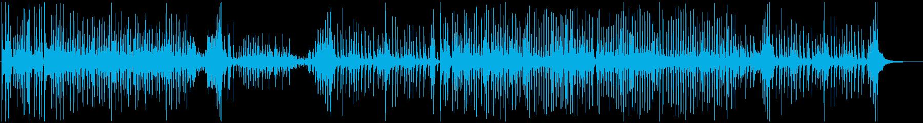 津軽三味線ソロ-B、激しい、疾走、声入りの再生済みの波形