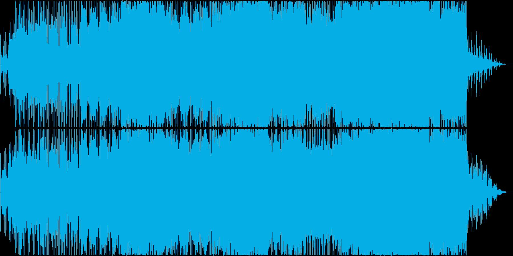 ピアノリフが切ないミドルテンポのバラードの再生済みの波形
