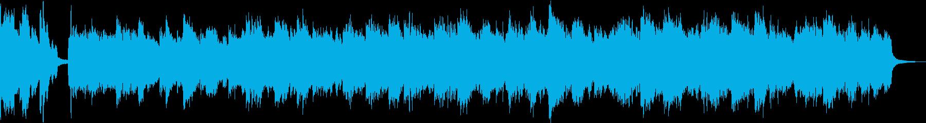 壮大・感動・儚く透明感オーケストラBGMの再生済みの波形