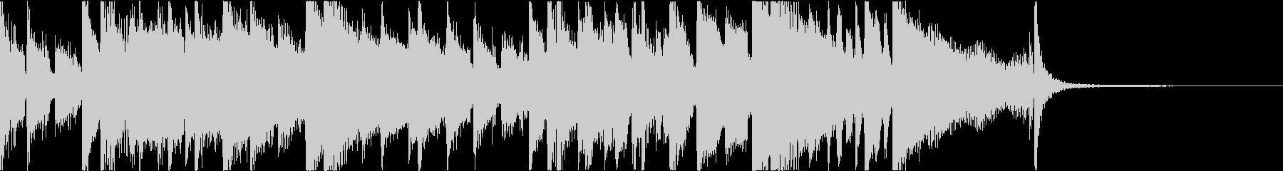 大人な雰囲気のジャズブルースジングルの未再生の波形