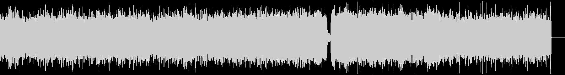 シネマティックホラー、ハロウィンBGMの未再生の波形