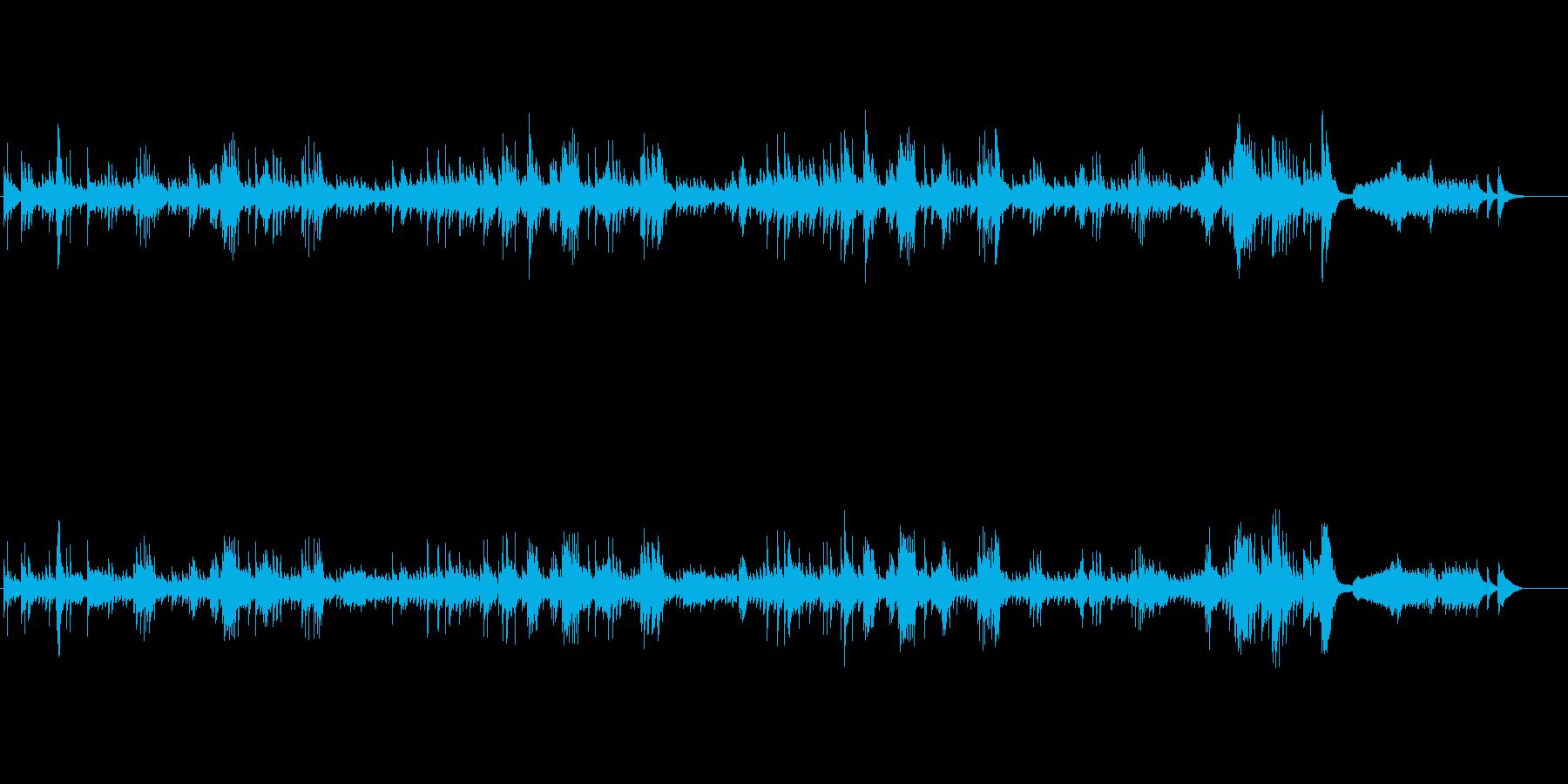 ショパン ノクターン クラシックギターの再生済みの波形