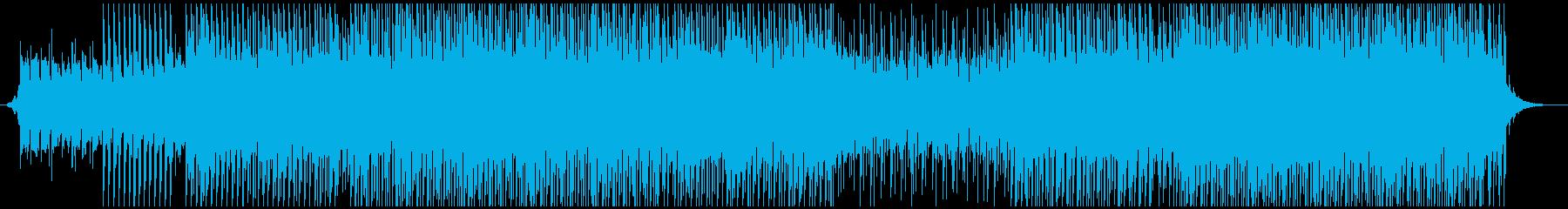 ポップサマーミュージックの再生済みの波形