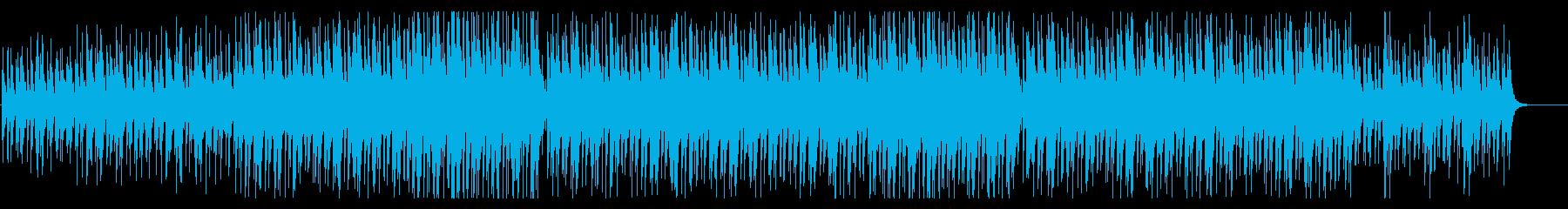 爽やか・ウクレレ・口笛の再生済みの波形