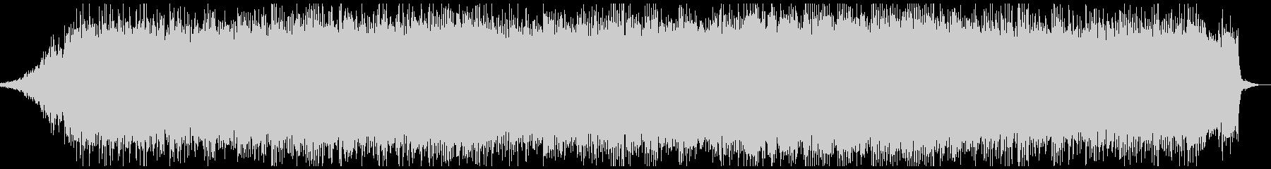 ピアノやシンセサイザーのアンビエントの未再生の波形