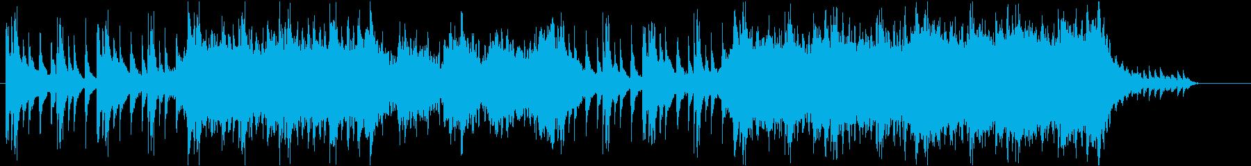 シタール/民族/オーケストラの再生済みの波形