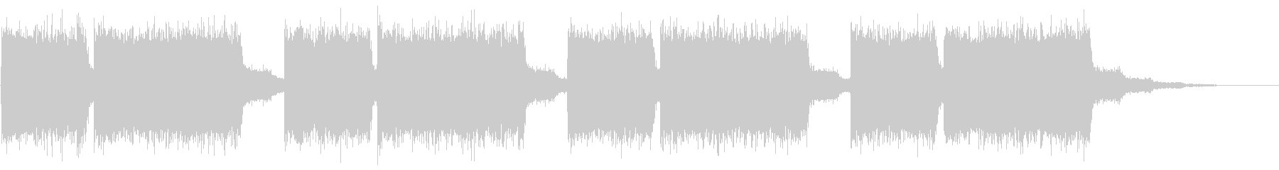 KANT近未来映画アニメ的アラーム音3の未再生の波形