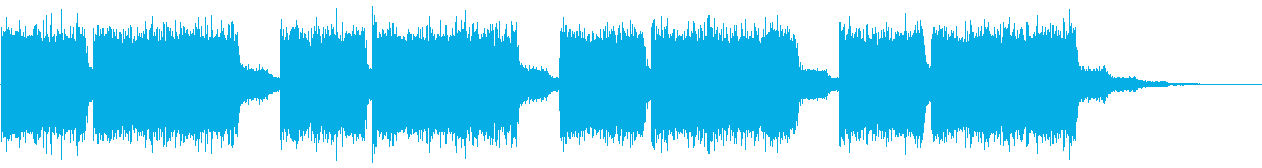 KANT近未来映画アニメ的アラーム音3の再生済みの波形