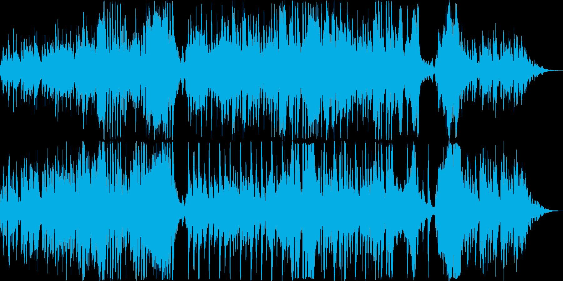 ハロウィン/怪しい/かぼちゃ/オケの再生済みの波形