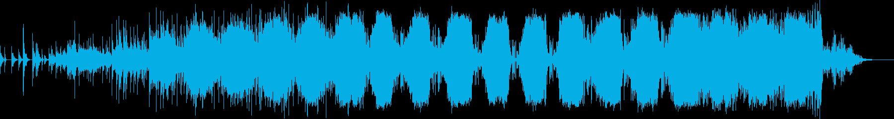 笙や太鼓など和楽器を使ったゆったり和風Bの再生済みの波形