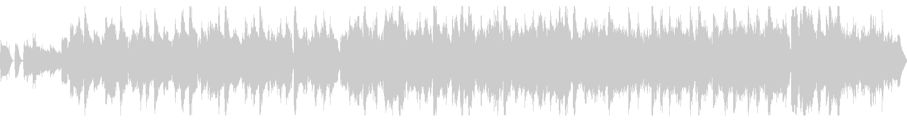ベースなし・ループの未再生の波形