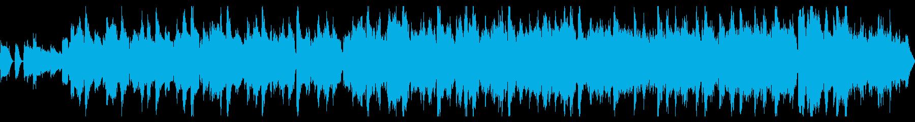 ベースなし・ループの再生済みの波形