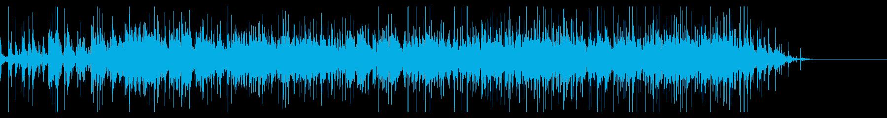 【生録音】グラスに飲み物を注ぐ音 1の再生済みの波形
