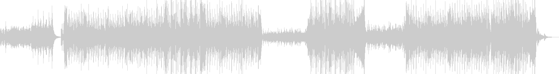 Latin BGM based on flamenco rhythm's unreproduced waveform