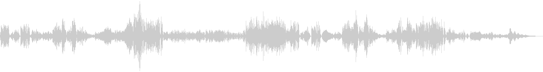 ドヴォルザーク作曲ソナチネ1の未再生の波形
