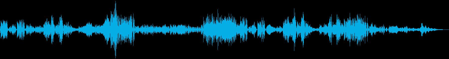 ドヴォルザーク作曲ソナチネ1の再生済みの波形